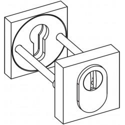 Colombo Schutzrosette - isometrische Ansicht