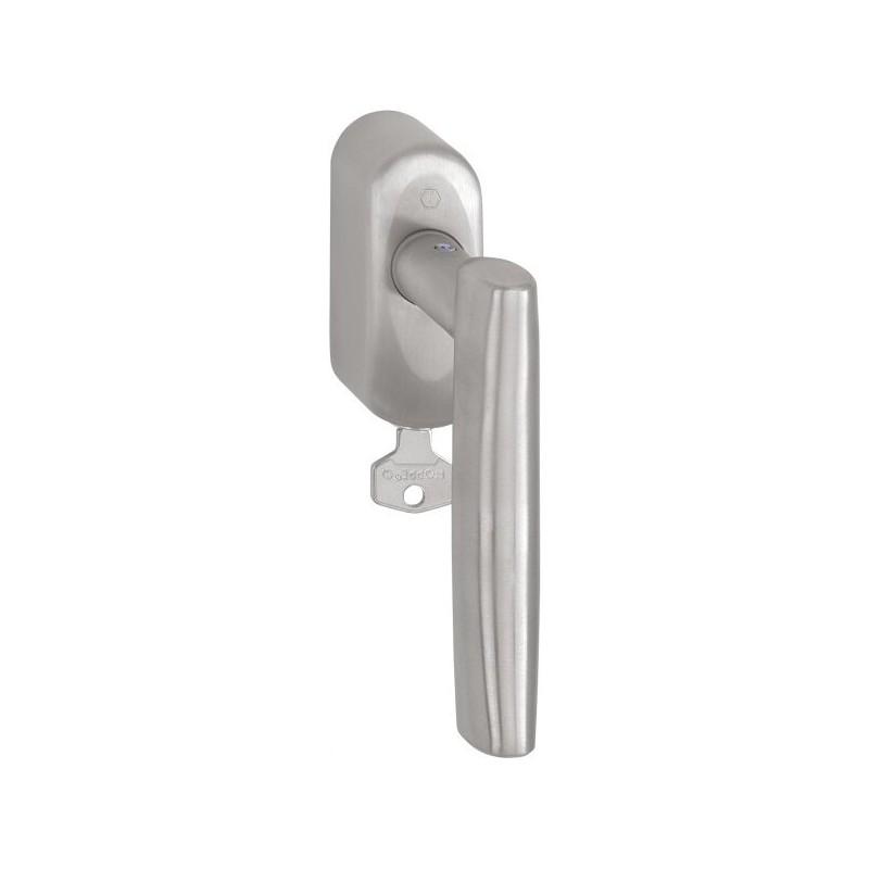 Secustik Fenstergriff abschließbar HOPPE LAS VEGAS E1440Z//US950S 43mm Secu100