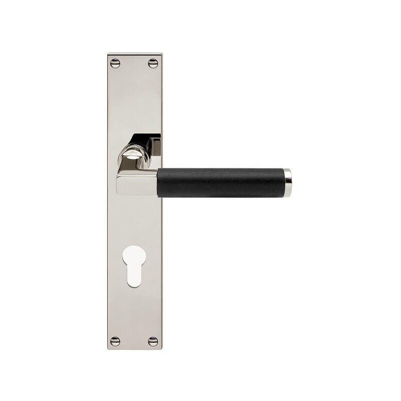 AHB Linea Ebenholz Nickel poliert / Holz Ebenholz - 1051.2270.24.02