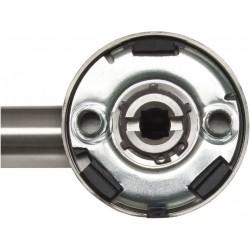 Detailansicht Halbgarnitur mit Metall-Unterkonstruktion