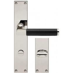 AHB Linea Ebenholz Nickel poliert / Holz Ebenholz - 1051.2270.24.04