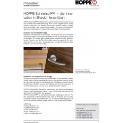 Hoppe Amsterdam Flachrosette 849 Edelstahl matt
