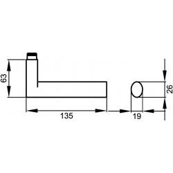 Karcher Türdrücker Madeira ER45QWC71 Edelstahl matt Türgriff Drückergarnitur