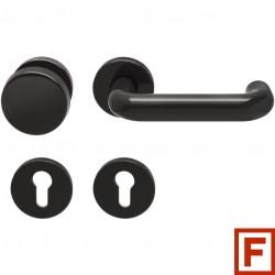 ECO Feuerschutzgarnitur U-Form Rosette Nylon schwarz WE - 5030017741