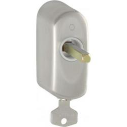 Hoppe Fenstergriff-Rasterung abschließbar US950S Edelstahl matt 32 mm - 11517755