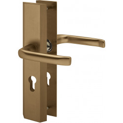 ECO Schutzbeschlag Porta II / D242 Alu bronze TG 8/72 mm