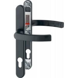 Hoppe Profiltuer-Tuergriffgarnitur Liege 3347N schwarz matt