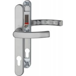 Hoppe Profiltuer-Tuergriffgarnitur Liege 3347N Alu Stahl