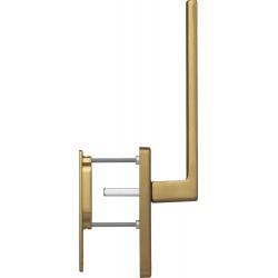 Hoppe Hebe-Schiebetuergriff Austin Alu bronzefarben mittel matt innen Griff, außen Griffmuschel