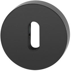 Colombo Buntbart-Rosette CD43 schwarz matt