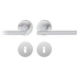 FSB Drueckergarnitur 1035 Rosette ASL® Alu natur BB