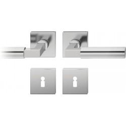 FSB Drueckergarnitur 1102 Rosette ASL® Edelstahl matt BB
