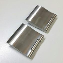 Karcher Glastuer-Bandset EGB302 Edelstahl matt - EGB30271