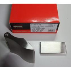 Karcher Glastuer-Bandset EGB302 Edelstahl matt