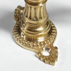 historische Olivenrosette mit 43 mm Lochabstand
