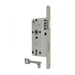 KFV BB-Einsteckschloss 104 1/2 silberfarben DIN links Metall-Falle 20x235 mm rund - 3282033