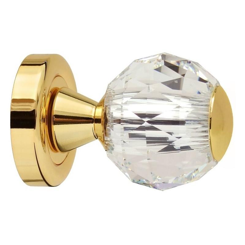 AHB Kristall 8068 Gold poliert / Glas bzw. Kristall klar - 8068.3271.80.87