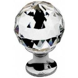 AHB Kristall 9010/1100 Chrom poliert / Glas bzw. Kristall klar - 9010.1100.02.30