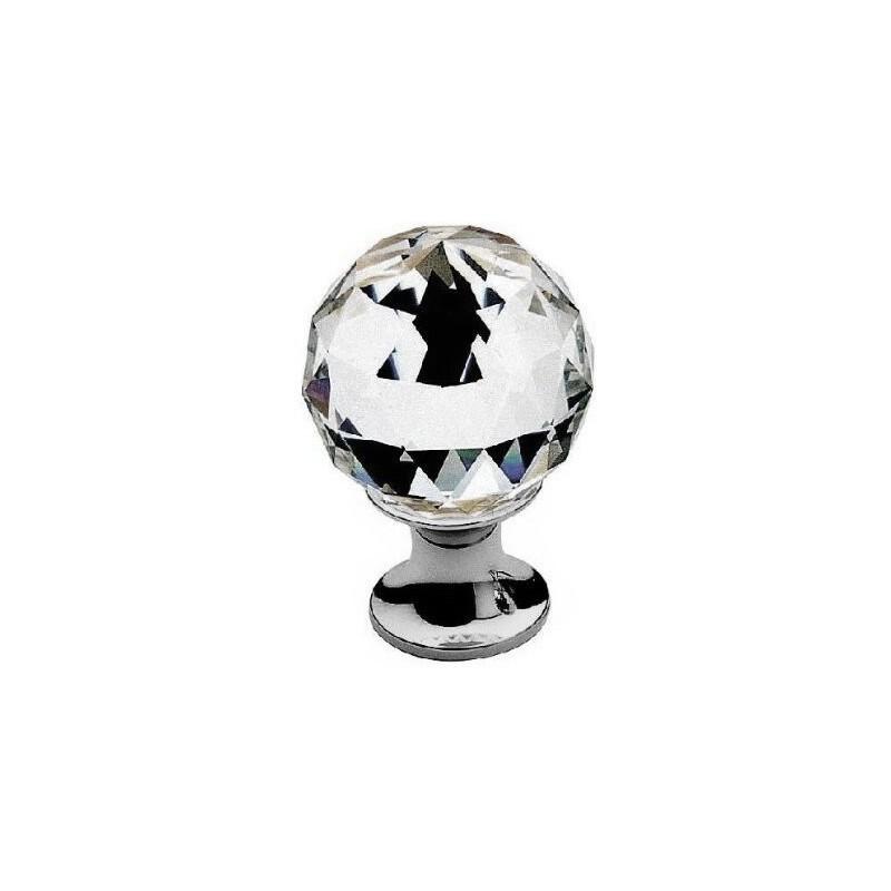 AHB Kristall 9010/1100 Chrom poliert / Glas bzw. Kristall klar - 9010.1100.02.40
