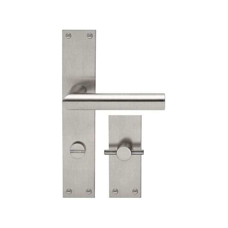 AHB L-Form Edelstahl matt - 1400.2410.16.04