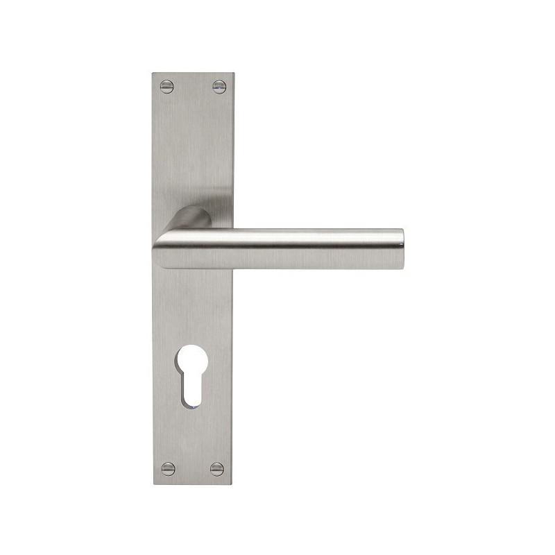 AHB L-Form Edelstahl matt - 1400.2410.16.02