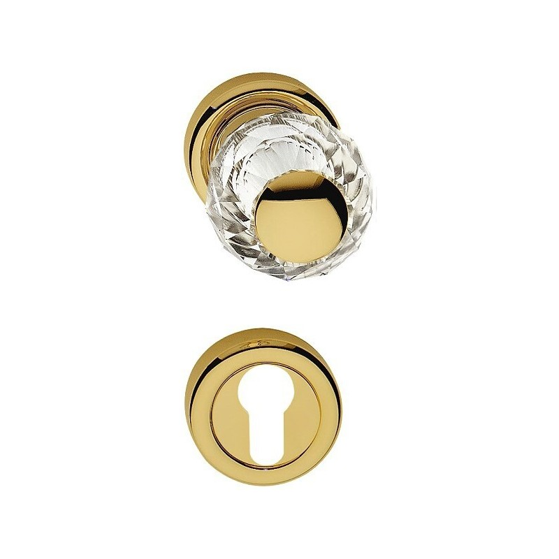 AHB Kristall 8068 Gold poliert / Glas bzw. Kristall klar - 8068.3271.80.02