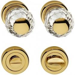 AHB Kristall 8068 Gold poliert / Glas bzw. Kristall klar - 8068.3271.80.04