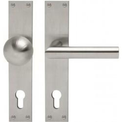 AHB L-Form Edelstahl matt - 1400.2410.16.15