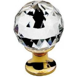 AHB Kristall 9010/1100 Gold poliert / Glas bzw. Kristall klar - 9010.1100.80.40