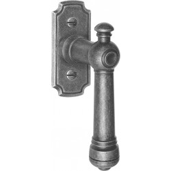 AHB 1670/3768 Schmiedeeisen verzinkt antik grau