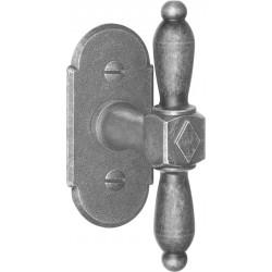 AHB 1966/3767 Schmiedeeisen verzinkt antik grau