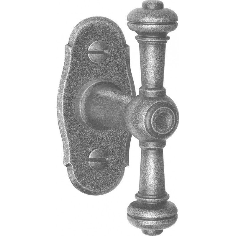AHB 1967/3772 Schmiedeeisen verzinkt antik grau