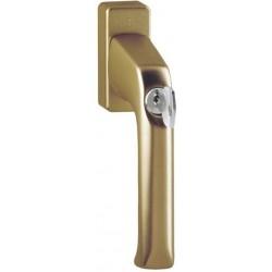 Hoppe Fenstergriff London abschließbar Alu bronze 32 mm - 808182