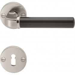 AHB 1211/3223 Nickel matt / Lack schwarz