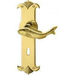 AHB Fisch Messing poliert unlackiert - 1041.2041.00.01