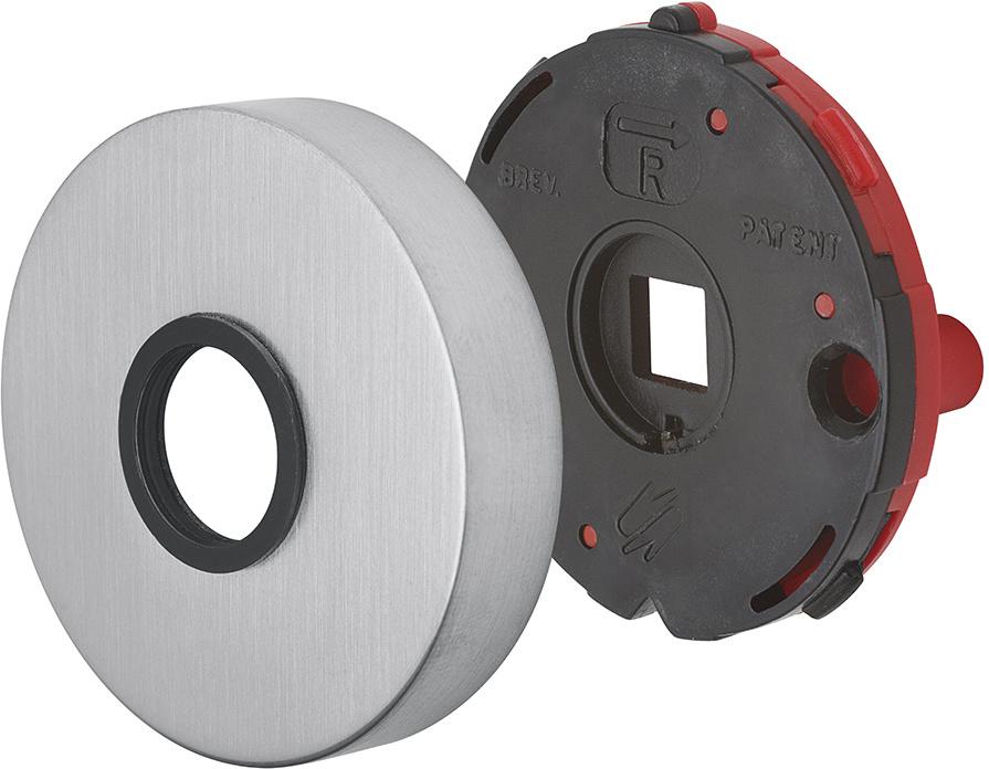 Colombo Türdrücker Robot CD41R PZ Chrom poliert Türgriff Türklinke Türbeschlag